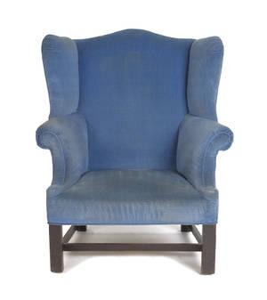 Philadelphia Chippendale mahogany easy chair ca 1780