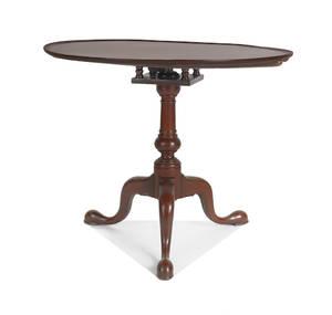 Philadelphia Queen Anne mahogany tea table ca 1765