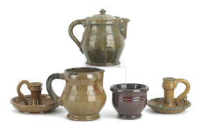 Collection of IS Stahl redware