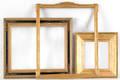 Four gilt frames