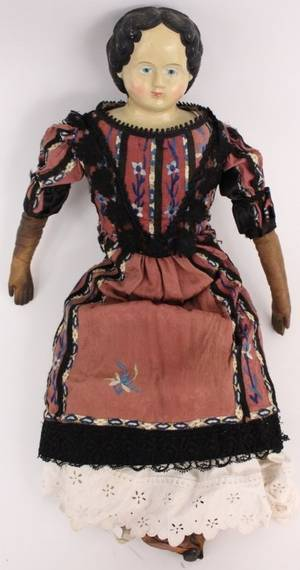 Large Griener Doll Circa 1876