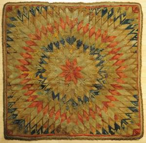 Three American hooked rugs