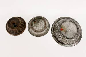 Group of 3 Vintage Molds