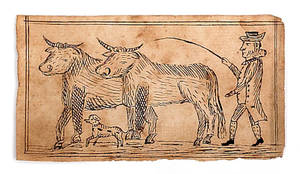 Pennsylvania ink fraktur drawing early 19th c