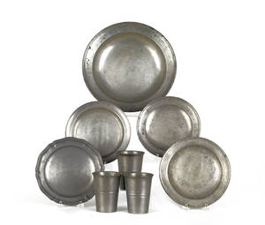 Townsend  Compton pewter basin