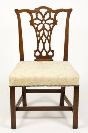 18th Century Chippendale Mahogany Side Chair