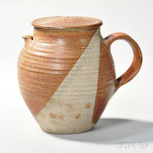 Karen Karnes b 1925 Covered Pitcher