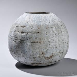Ani Kasten b 1976 Birchbark Pottery Vase