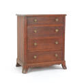 Walnut bachelors chest