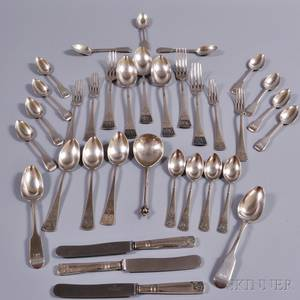 Group of Assorted English and Continental Flatware