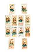 Twelve Dukes Cigarettes tobacco cards