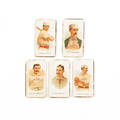 Five baseball tobacco cards to include Timothy Keefe