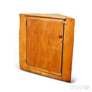 Country Pine Corner Cabinet
