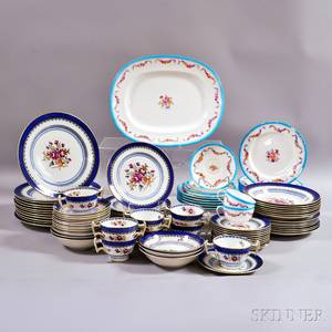 Mintons and a Booths Partial Ceramic Dinner Service