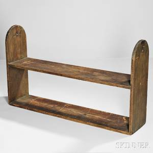 Shaker Large Pine Hanging Shelf