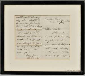 Grant Ulysses S 18221885 Autograph Letter Signed 10 July 1870