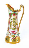 Pickard painted pour pitcher