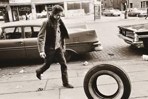 Jim Marshall American 19362010 Bob Dylan Kicking Tire Seventh Avenue New York City
