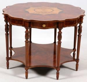 MAITLANDSMITH MAHOGANY PARLOR TABLE