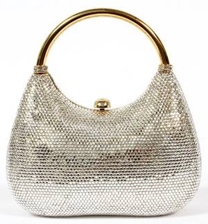 JUDITH LEIBER FULL BEAD EVENING BAG