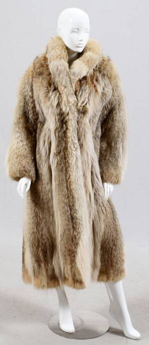 REVILLON RACCOON FUR COAT