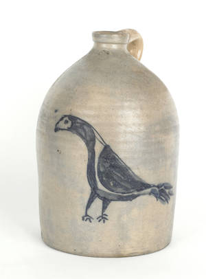 Stoneware crock mid 19th c