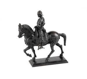 Bronze Venetian style equestrian figure