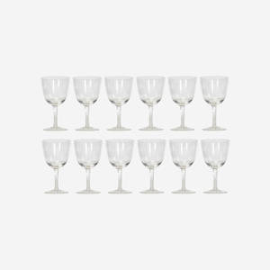 Garth and Ada Louise Huxtable   Water glasses from The Four Seasons set of twelve