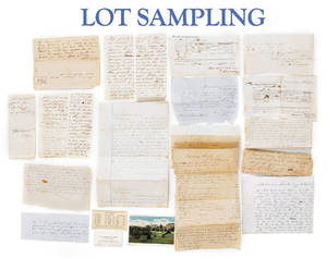 Collection of southern ephemera relating to the McDowell and Hall families of Spartanbergh South Carolina