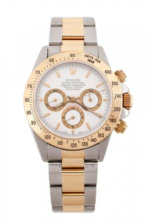 Mens Rolex Daytona Two Tone Watch