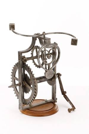 Italian Iron Mechanical Clockwork Spit Jack