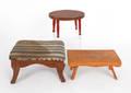 Three footstools