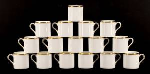 Sixteen Royal Worcester Viceroy Espresso Cups