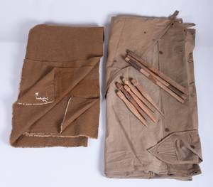 US Army Pup Tent Kit  Blanket