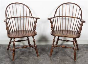 A Pair of Windsor Chairs