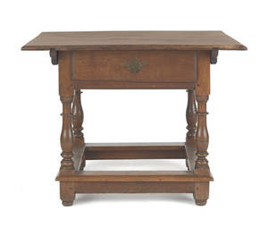 Pennsylvania walnut tavern table ca 1750