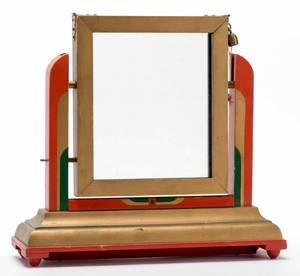 Television Card Frame American ca 1940 Handsome