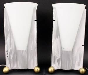 Pair of Robert Sonnenman for Kovacs Table Lamps