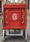 Antique FullSize Monkey Cage Circus Wagon No 66