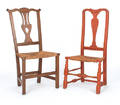 Two New England country side chairs