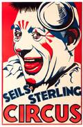SellsSterling Circus Np ca 1937 One sheet 26 x