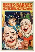 BeersBarnes Circus Newport Donaldson Litho ca