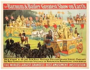 Barnum and Bailey Greatest Show on Earth Parade