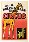 Al G Kelly and Miller Brothers Circus Np ca 1944