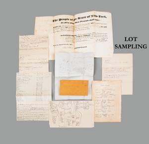 Collection of ephemera relating to the McChesny family