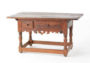 Pennsylvania walnut tavern table ca 1760