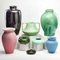 Arts  crafts pottery group