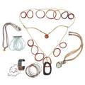16 pieces of artisanal jewelry