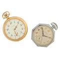 Two waltham open face pocket watches