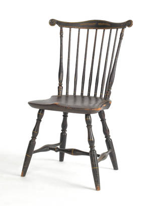 Fine Pennsylvania Windsor side chair ca 1780
